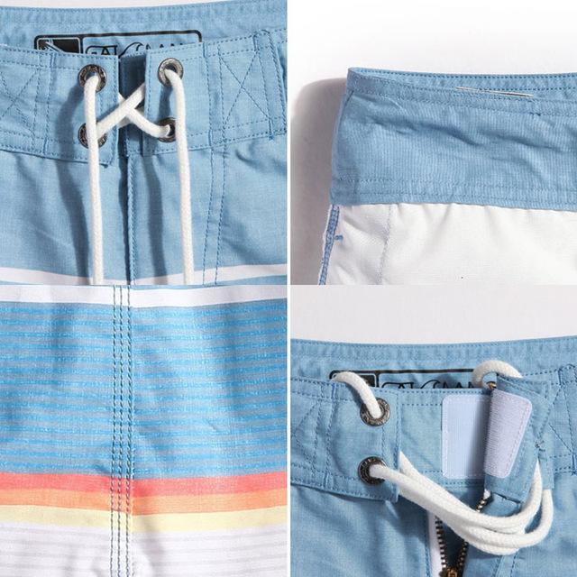Gailang Brand Men Beach Shorts Boxer Trunks Boardshorts Plus Size Men's Swimwear Swimsuits Bermuda Short Bottoms Quick Drying