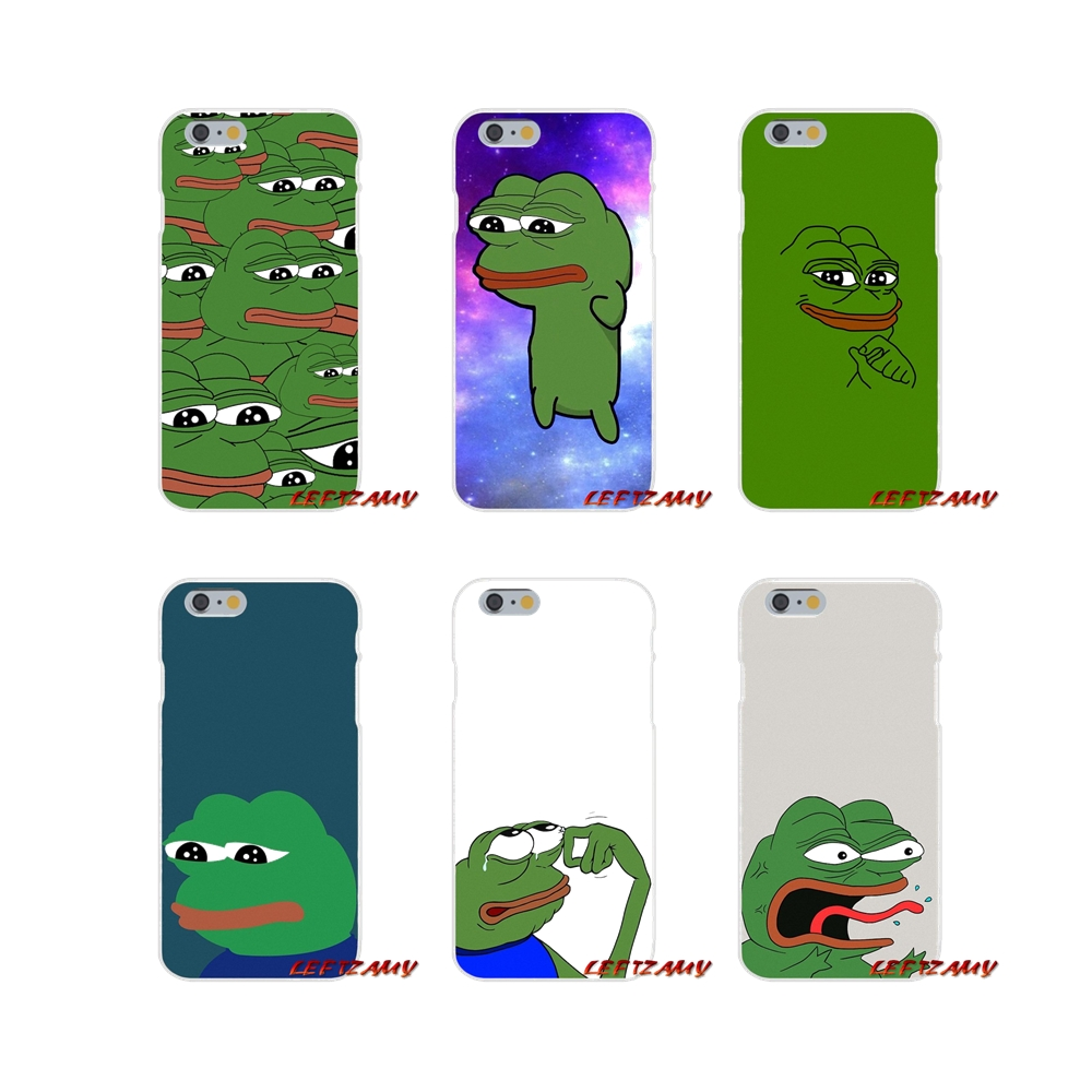 Cute Frog Meme Accessories Phone Cases Covers For Samsung Galaxy A3 A5 A7 J1 J2 J3 J5 J7 2015 2016 2017 image