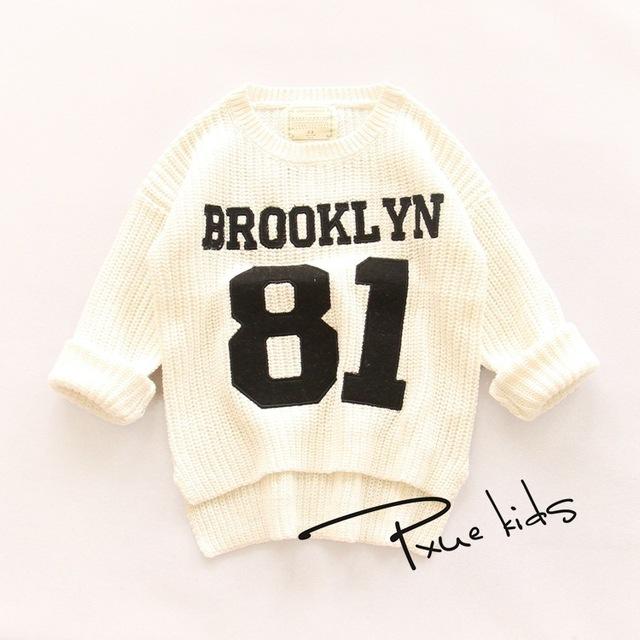 2 - 7 T 2015 nueva ropa para bebé de los muchachos suéter hecho punto otoño primavera arropan al bebé usan suéteres de los bebés del invierno de la rebeca