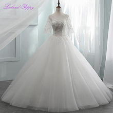 LCELAND POPPY Ball Gown Wedding Dress Floor Length