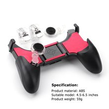 5 In 1 Pubg Moible Controller Gamepad Api L1 R1 Pemicu Pugb Mobile Game Pad Grip L1R1 Joystick untuk iPhone Android Ponsel(China)