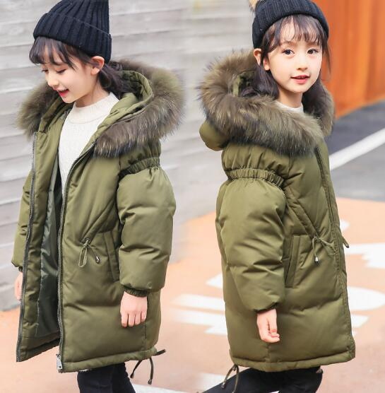 все цены на New baby Boys Winter Coat 6 to 14 Years Hooded Children Patchwork Down Baby Boy Winter Jacket Boys Kids Warm Outerwear Parks
