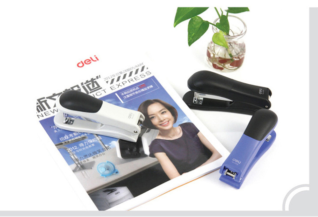 hole punch swivel simple booklet stapler multi angle rotation