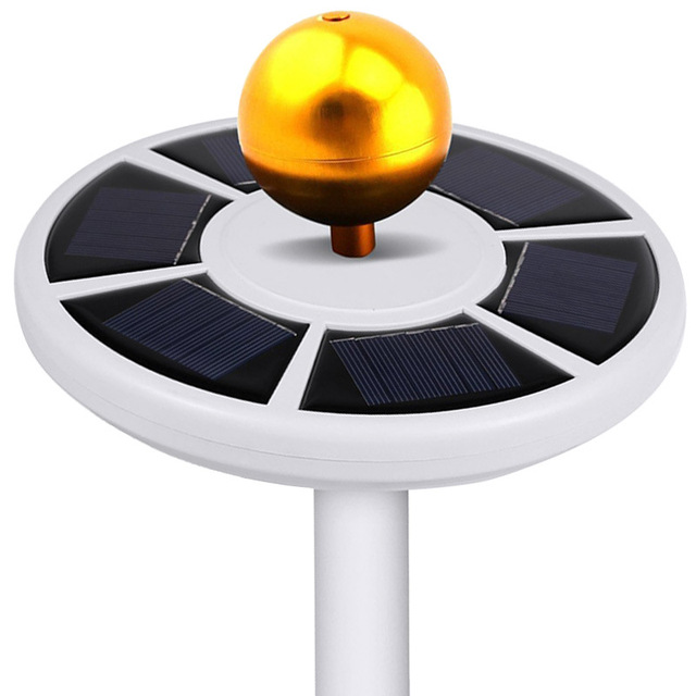 Solar Panel 26 LED Outdoor ABS Rechargeable Lamp