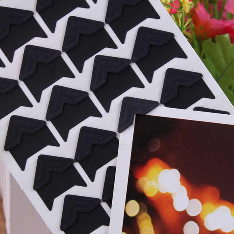 FUNIQUE 24 шт винтажные фото угловые скрапбукинги бумажная рамка для фотографий украшение Скрапбукинг DIY открытка Угловой протектор
