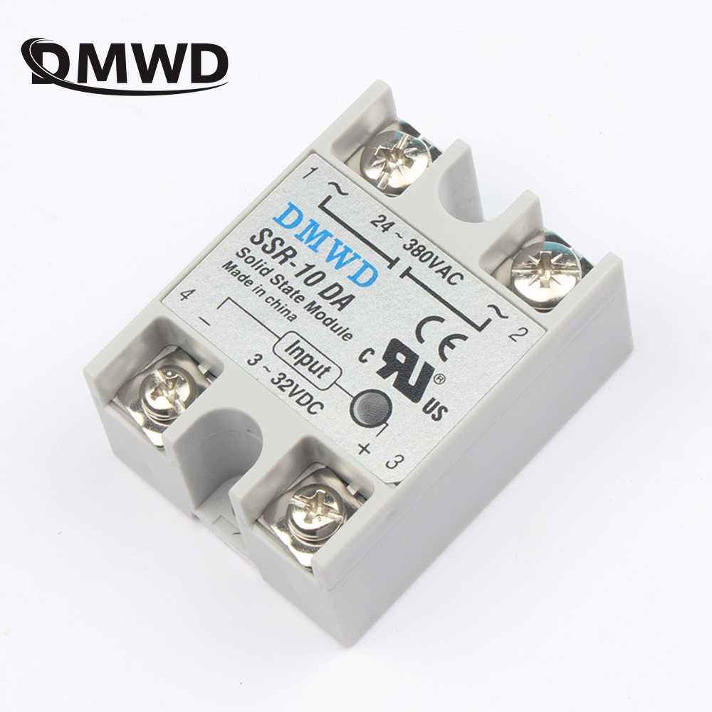 Detail Feedback Questions About 1 Pcs Solid State Relay Ssr 40dd 40a Dc Load 10da 25da 40da 10a 25a Actually