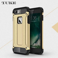 TUKE For iPhone 7 Plus Case Heavy Duty Armor Slim Hard Tough Rubber Cover Silicone Phone Cases for Apple iPhone 7Plus 5.5inch