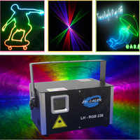 1,5 w analog 45kpps RGB Top qualität und gute preis neue mini laser licht, outdoor weihnachten laser licht system