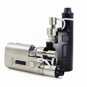 Image 5 - Oryginalny Kanger Drip EZ zestaw startowy 80W E papieros Vape parownik z pompą Push RBA 0.3Ohm cewka kroplowa 0.2Ohm e zestaw papierosów
