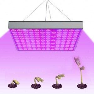 Image 5 - DCOO lampa fito 45W LED rośliny świetlówka do roślin 265V pełne spektrum dla kryty roślin szklarniowych do kwiatów hydroponiczne Panel świetlówka do roślin