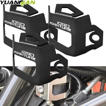 For KTM 1290 SUPER ADVENTURE Motorcycle Rear Brake Fluid Reservoir Guard Cover Protect 1190 1050 Adventure ADV
