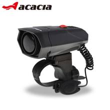 Acacia Black Loud Bike Ring 110 db Cycling Bicycle Horn Potencia Bicicleta Timbres Bicicleta Bike Ring Bells Electric Horn 1446
