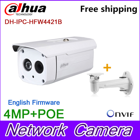 Wholesale Dahua 4MP bullet Camera IPC-HFW4421B HD IP CCTV Network Audio monitoring Web POE DH-IPC-HFW4421B dahua new model dh ipc hfw4421b ip