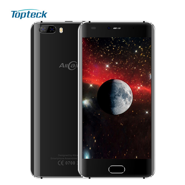 """AllCall Rio OTG Smartphone 5.0"""" HD Curved Screen Android 7.0 MTK6580A Quad Core 1GB+16GB 8MP Dual Rear Camera 3G Mobile Phone"""