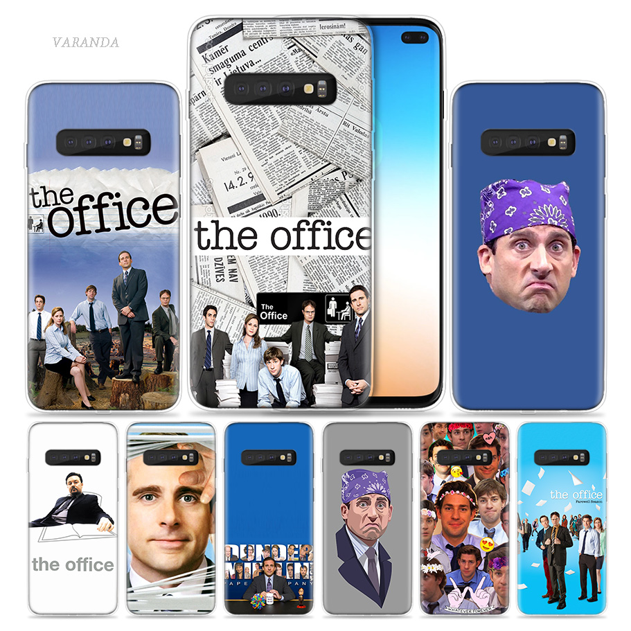 US $1 75 53% OFF|The Office TV Show Case for Samsung Galaxy S8 S9 S10 5G  S10e S7 Note 8 9 10 J4 J6 Plus J5 J8 2018 J3 Silicone Cubrir Phone Bags-in