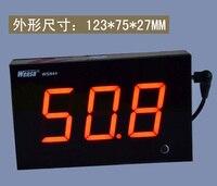 WS844 Custom Wandmontage Geluidsmeter Size Tester Digitale Display Decibel Meter WS844 voor Bar Winkel Hall Office Game Room