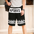 2016 Men Summer Hip Hop Short Pants Fashion Loose Short Pants Street Wear Casual Breathable Cool hip-hop shorts Tide