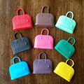 3 шт. случайных цветов пластиковые сумки исходящие пакеты куклы accessores для 1/6 BJD SD Блит Азон Барби кукла аксессуары