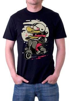 2019 nueva camiseta de moda para hombre de manga corta Camiseta de músculo interesante loco motocicleta rider musculosa Camiseta corta manga