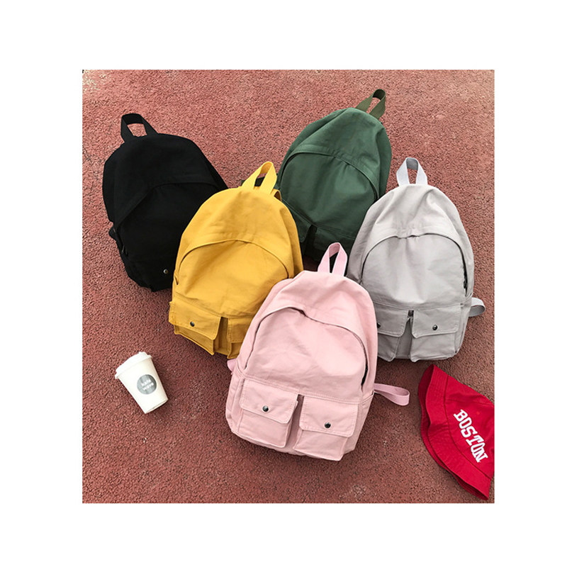 Yifanghe Women Girls School Bag Backpack For Teenage Backpacks Canvas Children Schoolbag Lady Book Bags