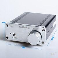 2017 NEW K GuSS GU50 HIFI 2 0 Class D TPA3116 Mini Borne Audio Power Amplifier