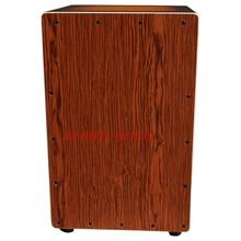 Afanti Music Rosewood Birch Wood Natural Cajon Drum KHG 153