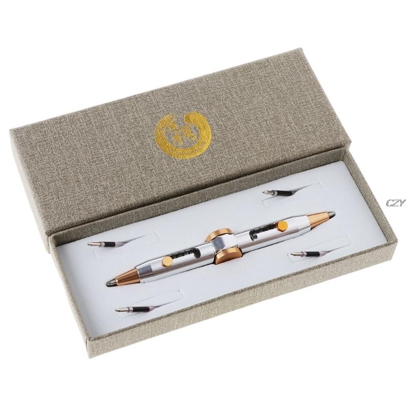 Novelty Fidget Spinner Metal Pen Anti Stress Pen Toys Ballpoint Pen Kids Student