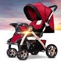 China barato Leve Carrinho de Bebê carrinhos de bebê recém-nascido de Verão e de inverno seção de atualização de Luxo dobrável carrinhos de bebê