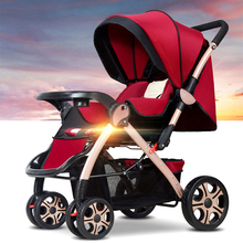 China cheap Lightweight Baby Stroller Summer and winter newborn baby carts Luxury upgrade section folding prams