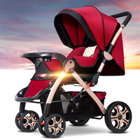 China cheap Lightweight Baby Stroller Summer and winter newborn baby carts Luxury upgrade section folding baby prams