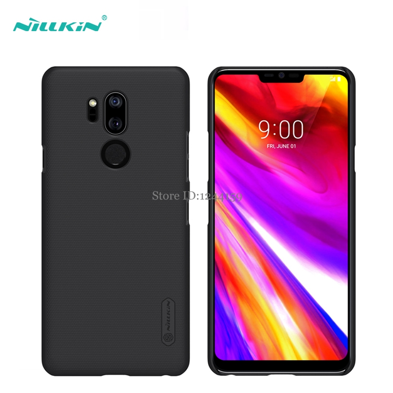 Case For LG G7 / G7 ThinQ Nillkin Frosted Shield Back Cover Sfor LG G7 G710 Case With Gift