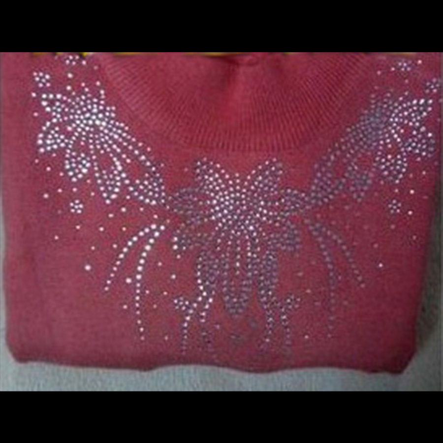 2018 Hot Fix Rhinestones motif Heat Transfer on Design Iron On clothes T  Shirt Shoes Bags dancing dress-in Rhinestones from Home   Garden on  Aliexpress.com ... fbd55d2993d1