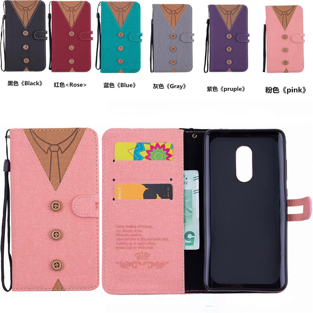 Xiaomi Redmi 5 Plus Case Redmi 5A cover Canvas Leather Flip Phone Case Xiaomi Redmi 5 Redmi Note 5A Redmi Note 4X Redmi 3S Cases With lanyard15_