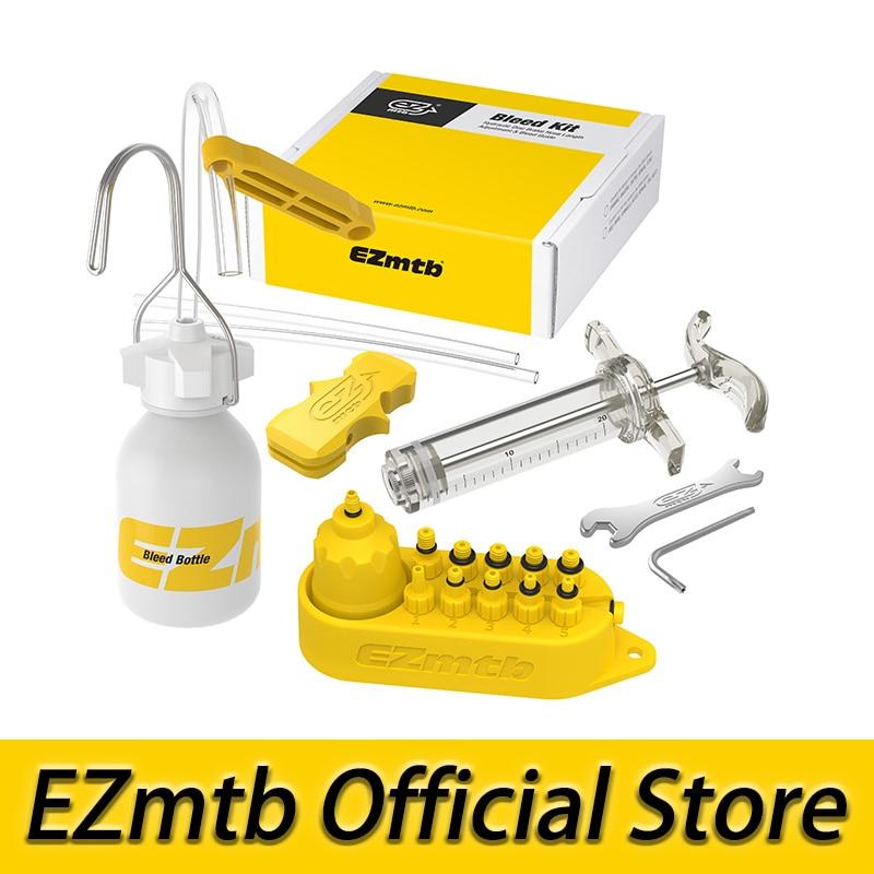EZMTB Bicycle universal Hydraulic Bleed Tool Kit for shimano&tektro&magura&hayes&formula&sram&avid&giant&nutt bicycle brake