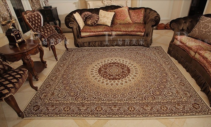 Aliexpress Buy Big Size Persian Carpet 200290cm Living Room Coffee Table Rectangle Ground Mat Classical Home Decoration From Reliable