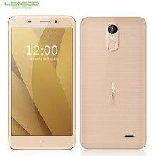 """ORI G инал lea G OO M5 плюс 5.5 """"HD мобильный телефон MTK6737 Quad Core 2 ГБ + 16 ГБ противоударный смартфон Android 6.0 13MP fin G erprint 4 г"""