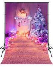 2016 г. Новинка Рождество Свечи фотографии фонов для новорожденных рождественских фото Задний план для празднования XT-4316