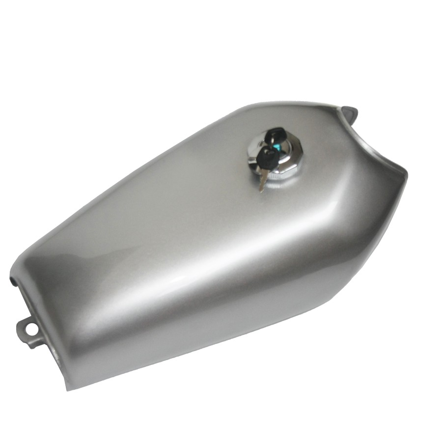 все цены на New 9L Gal Cafe Racer Sliver Gas Capacity Tank Universal Fuel Tank with Thick Iron Cap Switch for Honda CG125 CG125S CG250