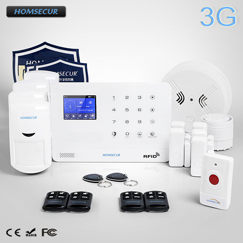 Best Offers HOMSECUR Wireless LCD 3G Home Security Alarm System with 4 Pet-Immune PIR   LA02-3G