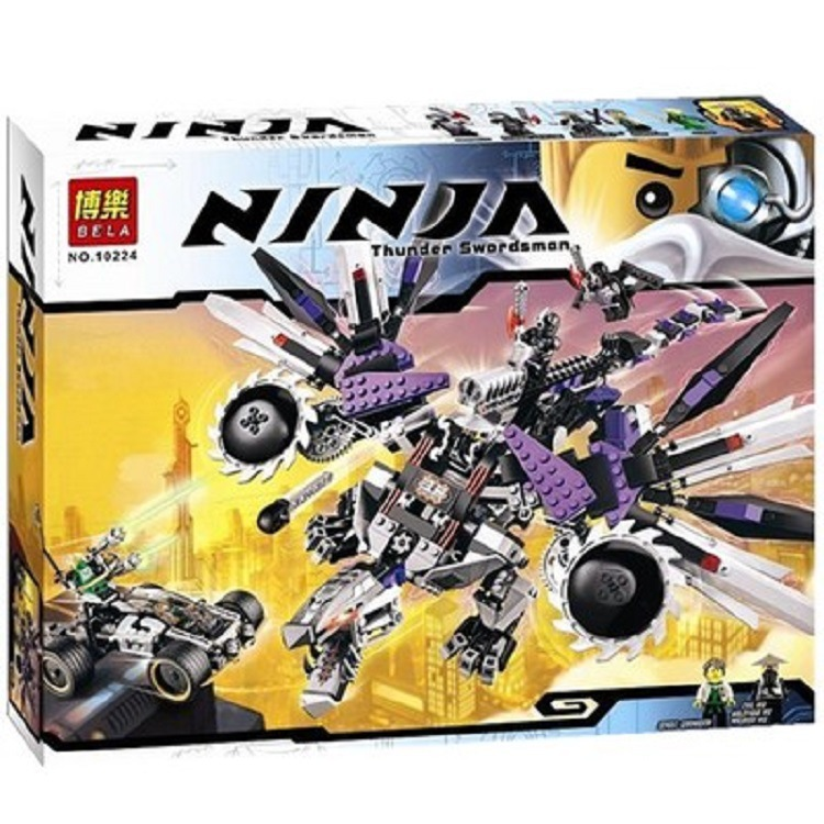 690Pcs Bela 10224 Ninjagoes Nindroid Mech Dragon Toy Building Blocks Set Compatible with Legoingly 70725 Best Christmas Gifts690Pcs Bela 10224 Ninjagoes Nindroid Mech Dragon Toy Building Blocks Set Compatible with Legoingly 70725 Best Christmas Gifts