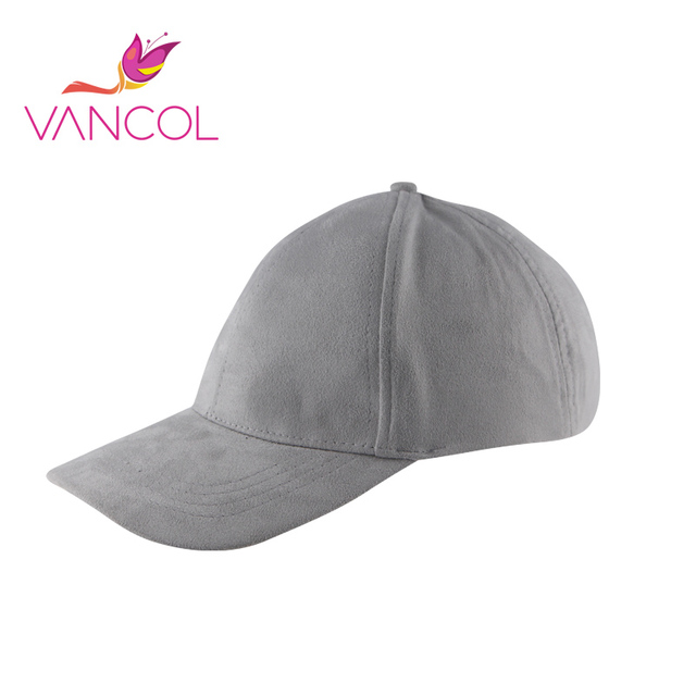 6 Color Black Vancol 2016 Summer Fitted Hats Men Bone Gorra Swag Snapback Hip Hop Hat Leather Cap Golf Suede Baseball Cap Women