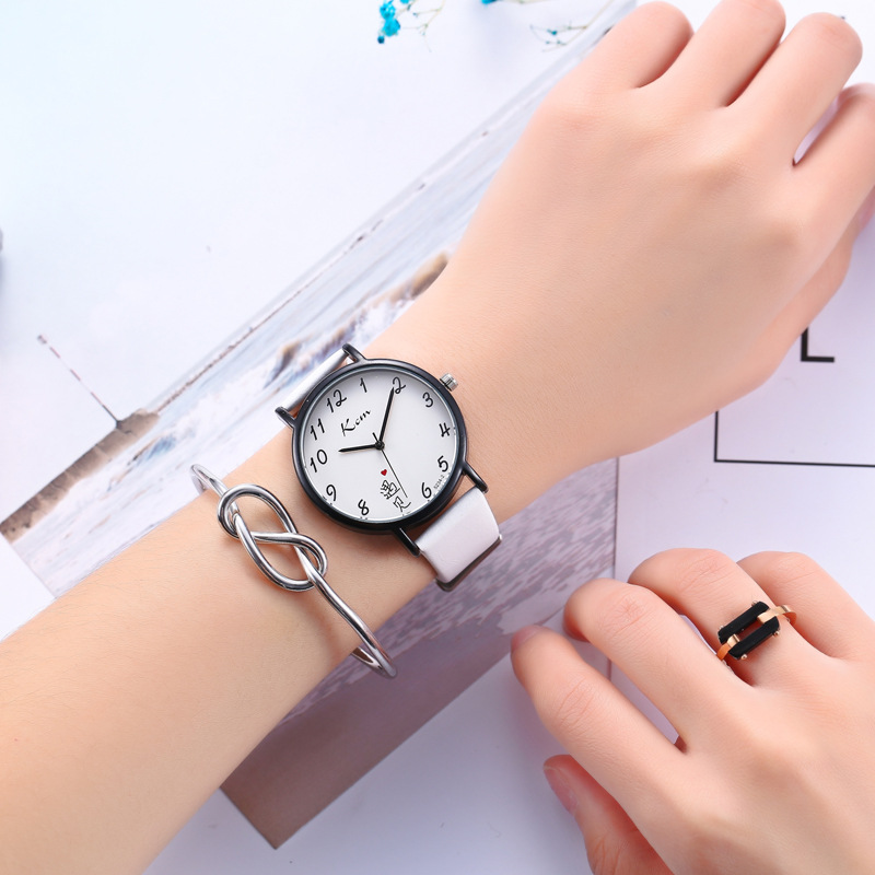 High Quality Fashion Leather Strap Women Watch Casual Love Heart Quartz Wrist Watch Women Dress Ladies Luxury Watches high quality kezzi brand luxury ladies watches fine inlaid cyrstal dial leather strap quartz watch wrist watches for women gift