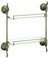 brass glass shelf, bathroom shelf,shelves, Antique Bronze bathroom fittings,bathroom accessories AB012b 1