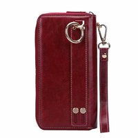 Finger Ring Belt Hand Strap PU Wallet Mobile Phone Case Pouch For Nokia 5.1,Zopo Z5000/P5000,Speed 8,Speed 7 Plus,Color X5.5i