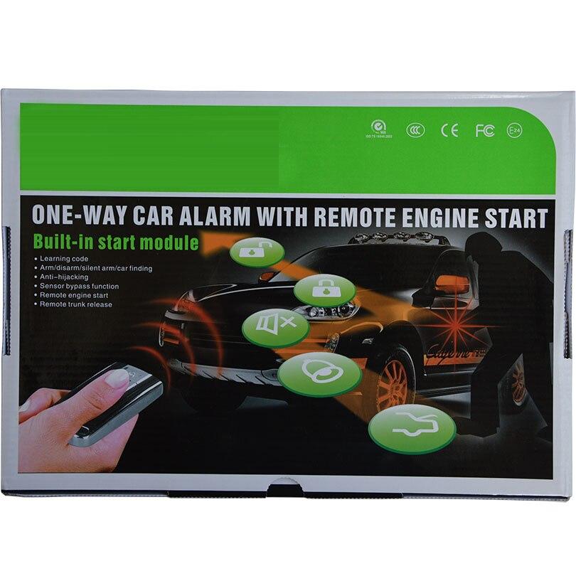 Système de sécurité automatique universel d'alarme de voiture de démarrage de moteur à distance avec le capteur à micro-ondes - 6