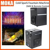 2pcs/lot cold spark fountain machine stage fire machine Remote and DMX control for wedding