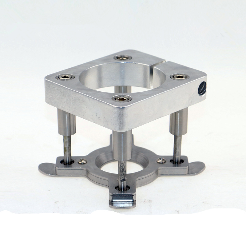 engraving machine spindle motor fully automatic clamp device floating type feeder pressing plate for 105mm spindle motor 1pcs 1 5kw motorized spindle er16 extended paragraph water cooled spindle motor can clip 10mm knife engraving machine accessories