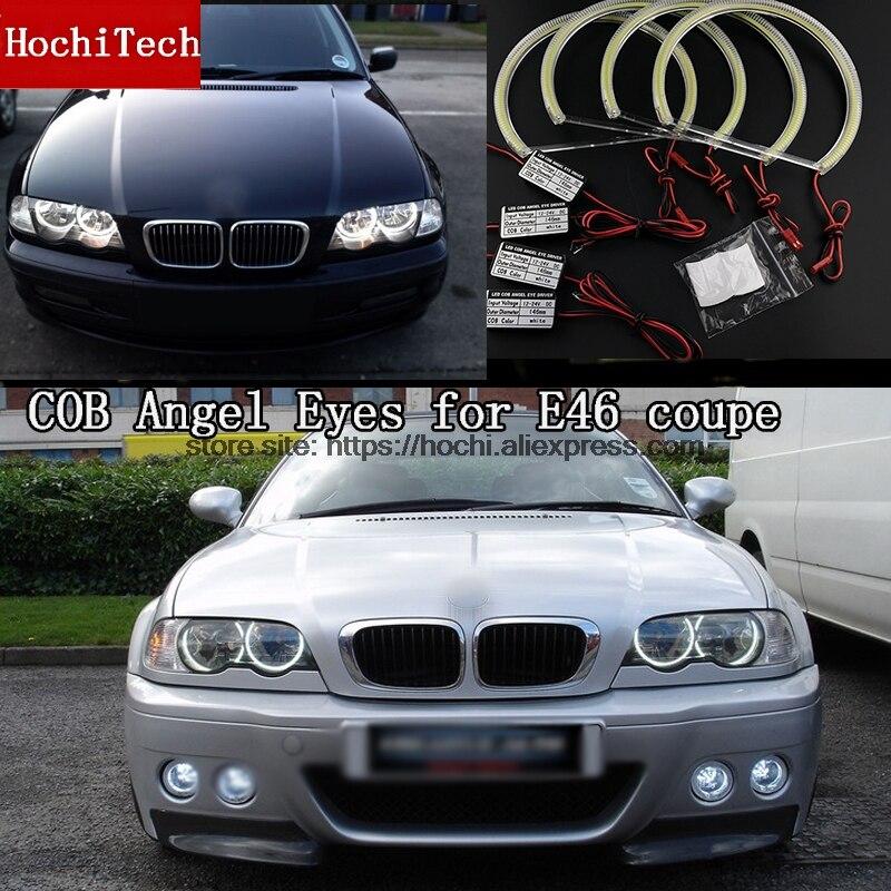High Quality COB Led Light White Halo Cob Led Angel Eyes Ring Error Free for BMW