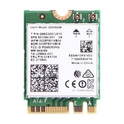 אלחוטי Dual Band 2.4G/5G 867Mbps Wifi כרטיס עבור אינטל 8265NGW 802.11ac Bluetooth 4.2 8265 NGFF wifi Wlan כרטיס רשת
