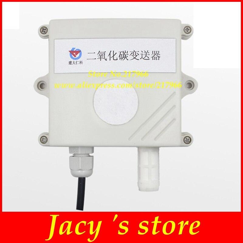 carbon dioxide transmitter carbon dioxide sensor co2 transmitter industrial high precision rs485 4 20MA 0 5V